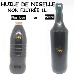 زيت حبة السوداء غير مصفي Huile de nigelle Non filtrée - 1 Litre