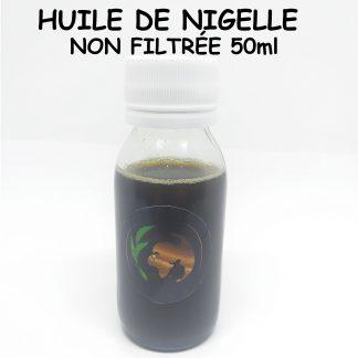 Huile de nigelle éthiopienne Non Filtrée 50ml