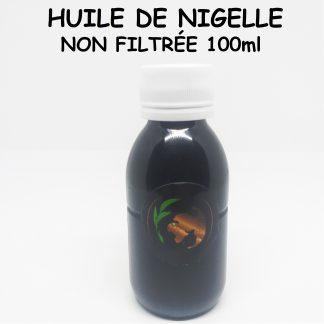 Huile de nigelle éthiopienne Non Filtrée 100ml