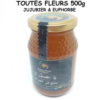 Miel de Toutes fleurs (Jujubier - Euphorbe) 2021 - 500g